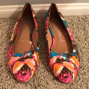 Jeffrey Campbell multi print  loafers